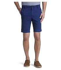 1905 collection traditional fit flat front shorts - big & tall by jos. a. bank