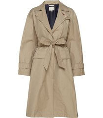 tommy icons city eco trench trench coat rock beige tommy hilfiger