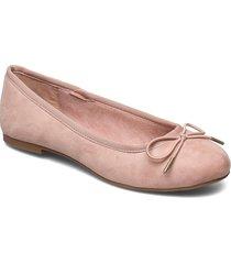 woms ballerina ballerinaskor ballerinas rosa tamaris
