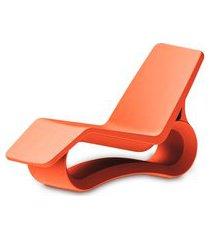 espreguiçadeira octo chaise longue laranja 92713090 tramontina