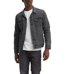 levi's men's big & tall trucker jacket