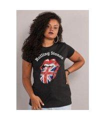 camiseta bandup the rolling stones uk flag black