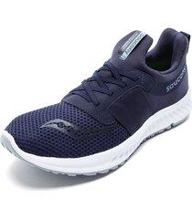 zapatilla deportiva stretch & go breeze azul saucony