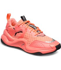 rise neon wns shoes sport shoes running shoes orange puma
