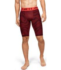 "men's heatgear armour extra long printed 11"" shorts"