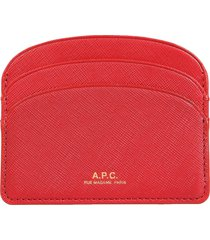 a.p.c. demi-lune card holder