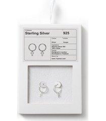 mens silver earrings*
