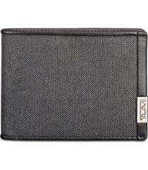 tumi men's double billfold wallet