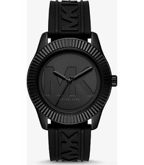 orologio maddye oversize nero con cinturino in silicone