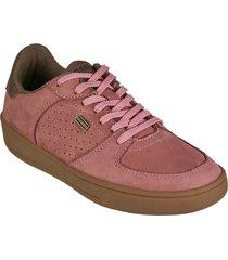 zapato cuero brahma mujer rosado ko2874-ros