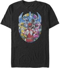 fifth sun men's powers of glass short sleeve crew t-shirt