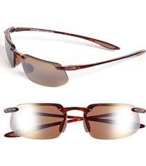 maui jim 'kanaha - polarizedplus(r)2' 62mm sunglasses in tortoise at nordstrom