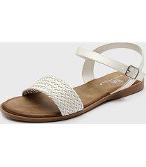 sandalia blanco bonnyfranco