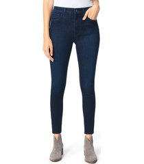 women's joe's the charlie high waist ankle skinny jeans, size 32 - blue