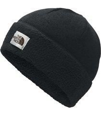 gorro sweater fleece negro the north face