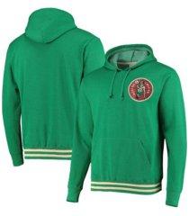 mitchell & ness men's boston celtics bat around hoodie
