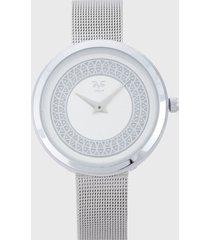 reloj plateado versace 19.69