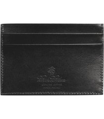 billetera french calfskin slim negro brooks brothers