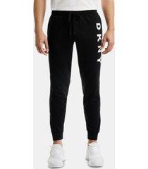 dkny men's logo pajama joggers