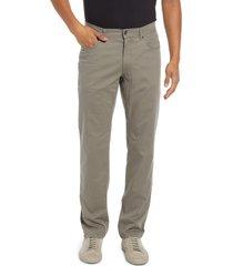 brax cooper fancy five-pocket pants, size 42 x 32 in khaki at nordstrom