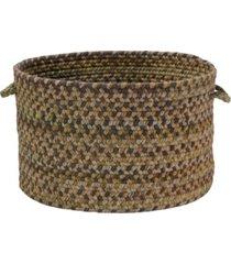 colonial mills rustica braided storage basket