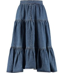 celine frilled skirt