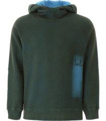 c.p. company washed hoodie