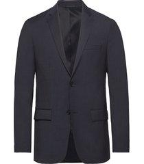 modern textured suit blazer kavaj blå calvin klein