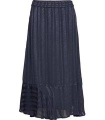 luciaiw skirt knälång kjol blå inwear