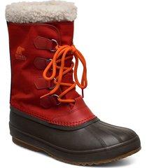 1964 pac™ nylon shoes boots winter boots röd sorel