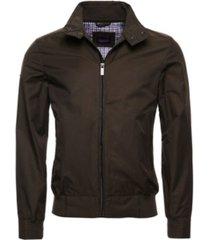 superdry men's funnel harrington jacket