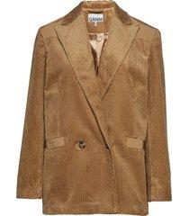 corduroy blazer blazers over d blazers brun ganni