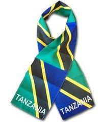 tanzania flag scarf