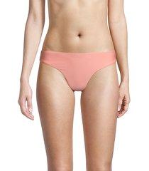 basic ruched bikini bottom