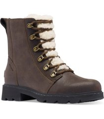sorel women's lennox lace cozy booties women's shoes