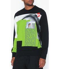 diesel s bay b3 sweat shirt tröjor svart