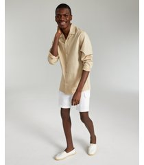 inc international concepts men's solid camp shirt, created for macy's