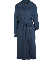 giacca modello trench  in viscosa (blu) - bpc bonprix collection