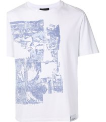 3.1 phillip lim postcard print sweatshirt - white