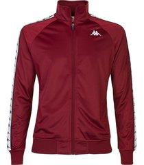 chaqueta para hombre 222 banda anniston slim kappa rojo kappa