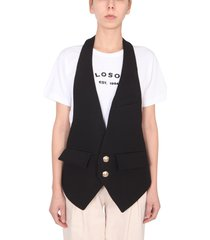 philosophy di lorenzo serafini vest with two buttons