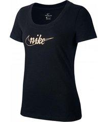 camiseta de mujer lifestyle nike w nsw tee glitter 1