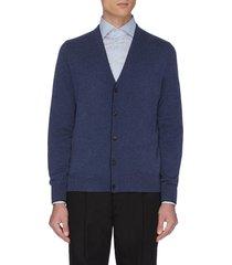 button up cashmere cardigan