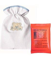 bolsa térmica padroeira baby família urso azul