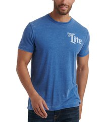 lucky brand men's miller lite graphic t-shirt