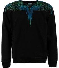 marcelo burlon regular wings crewneck sweatshirt