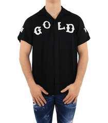 in gold we trust western blouse