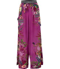 jungle language wide leg trouser