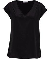 2nd dusk t-shirts & tops short-sleeved svart 2ndday