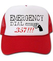 funny emergency dial .357 hat/cap